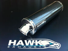 Hawk Triumph Tiger 1050 Sport 2012 + Round Carbon Exhaust Can Silencer SL