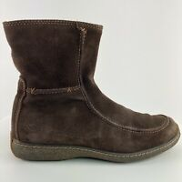 Timberland Comforia Women's Size 8.5 Brown Suede Fleece Hiking Waterproof Boots
