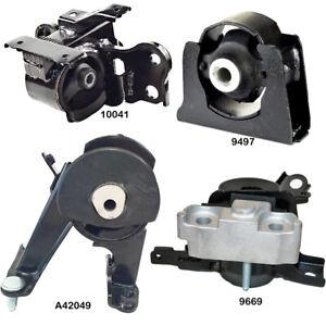 Engine & Manual Transmission Mount Set 4Pcs fits Scion XB 2008-2015 2.4L