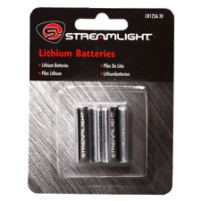 Streamlight CR123A 3V Lithium Batteries - 2 Pack - 85175 - NEW