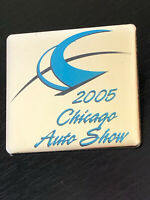 Vintage Collectible 2005 Chicago Auto Show Colorful Metal Pin Back Lapel Pin