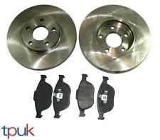 FORD TRANSIT CONNECT 1.8 DI TDCi (2002-2013) FRONT BRAKE DISCS & PADS SET