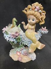 1989 Hamilton Collection Friends Of The Sea In The Rainbow Reef Figurine