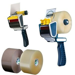 Heavy Duty Tape Gun Dispencers Pro Tape Big Tape U Max Economy Robust Handhel...