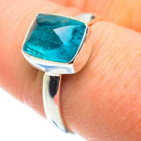 Blue Fluorite 925 Sterling Silver Ring Size 9 Ana Co Jewelry R52243F