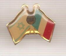 Pin's pin DRAPEAU FLAG ISRAEL - FRANCE (ref H40)