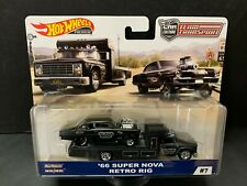 Hot Wheels Chevy Super Nova 66 with Retro Rig Team Transport FLF56-956C 1/64