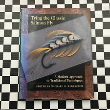 Tying The Classic Salmon Fly Michael Radencich Signed Autograph Hardcover Book