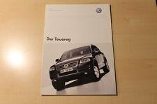 01734) VW Touareg - Preise & Extras - Prospekt 09/2002