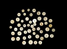 New listing Lot Of 50 Assorted Petite Vintage Mother Of Pearl Buttons