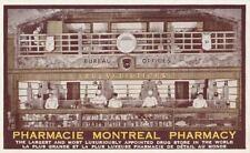 Postcard Pharmacie Montreal Pharmacy Canada