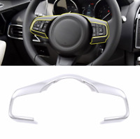Jaguar XE XF F-Pace f pace E-PACE Chrome Steering Wheel Decorative Frame Trim
