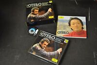 box 2 cd Verdi Myung-Whun Chung Domingo Studer Leiferkus Otello germany 1994