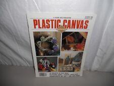 Plastic Canvas Corner magazine October 1990 - 26 projects Halloween & autumn