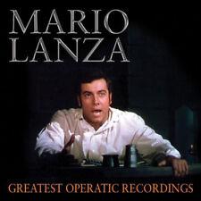 Mario Lanza : Mario Lanza: Greatest Operatic Recordings CD (2015) ***NEW***