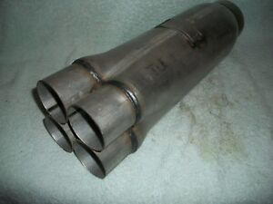 NEW DYNOMAX 24228 RACE SERIES COLLECTOR MUFFLER DRAGSTER PRO MOD HEADER DRAG GM