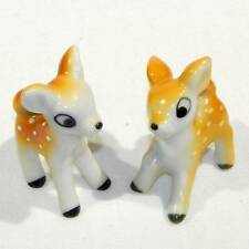 Japanese Arita Porcelain - Pair of Brother and Sister Deer