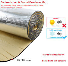 Sound Deadener Mat ,Car Heat Insulation Noise Control Thermal Barrier 72