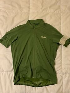 Rapha Classic Flyweight Men's Jersey Green Large L Road Cycling Summer