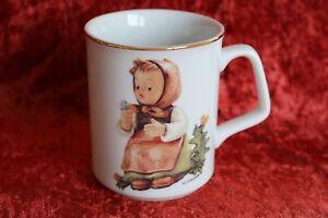 M.I. Hummel Porzellan Reutter Kaffee Becher Tasse Pusteblume Mädchen Make a Wish