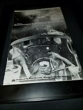Screamin' Cheetah Wheelies Shakin' The Blues Rare Radio Promo Poster Ad Framed