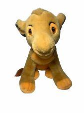"Vintage Disney The Lion King Sitting Simba 14"" Plush Stuffed Animal Toy Used"