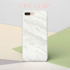 White iPhone SE Hard Plastic Case iPhone 6s Plus 7 8 Marble Cover iPhone XS Skin