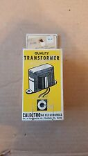 Calectro quality multi-voltage power supply transformer D1-742 (100MA)