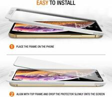 Glass Screen Protector for Apple iPhone 11 Pro Max XS Max X Max Install Mount