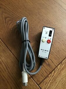 Elmo RC-250 Wired Remote Control for Vintage Carousel Slide Projectors 6-Pin DIN