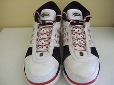 ADIDAS KG BOUNCE WHITE KEVIN GARNET BASKETBALL SNEAKERS SHOES 13 RARE!
