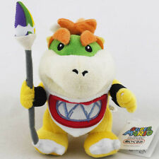 "New 7"" Baby Bowser Jr Koopa Plush Toy Super Mario Brother Figure Stuffed Animal"