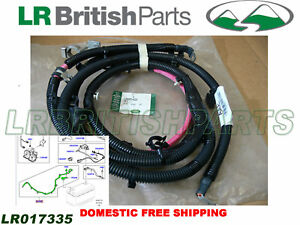 GENUINE LAND ROVER POSITIVE BATTERY CABLE LR2 3.2L OEM NEW LR017335