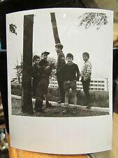 ancienne photo originale amateur lyon 69 petits chenapans de la croix rousse