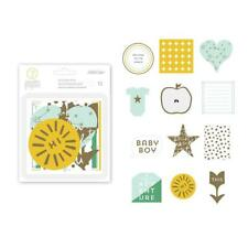 STUDIO CALICO  7th Paper - Clara   Gold Foil Boy Diecuts Embellishments  332536