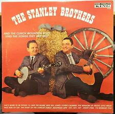 THE STANLEY BROTHERS sing the songs they like best LP VG+ King 772 USA Original