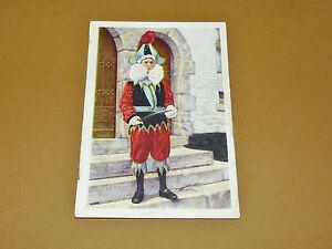 PHOTO CHOCOLAT COTE D'OR 1946 FOLKLORE BELGIQUE N°155 FOSSE CHINEL CARNAVAL