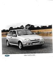 "1994 FORD FIESTA XR2i  PRESS PHOTO ""Brochure related"""