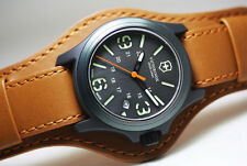 SALE!!!!!!!!  Victorinox Swiss Army 241593 Original Oversized Leather Cuff Watch
