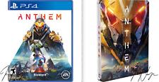 NEW Anthem PLAYSTATION 4 PS4 BONUS PRE ORDER DLC  & RARE STEEL BOOK EA BioWare