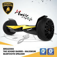 "Lamborghini 8.5"" Two-Wheel Scooter Bluetooth With Music Gift for Kids"