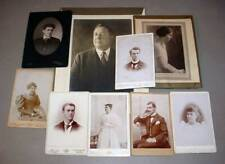 Chase Family (9) Antique Photos - Somerville, Boston, Harwich Centre MA