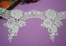 """6""""* 1yard Polyester Off White Venise/Venice Lace Trim Fringe Crafts/Sewing"""