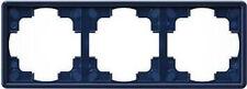 Gira S-Color blau, RAHMEN 3-FACH 021346