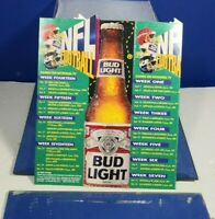 1995 NFL FOOTBALL BUDWEISER ADVERTISING TABLE TOP TENT