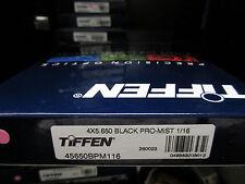 """New Tiffen 4x5.65"""" Black Pro-mist 1/16 Filter 4x5.650 Filters 45650BPM116"""