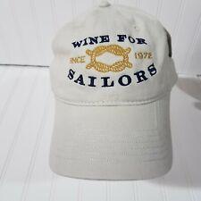 Dry Creek Vineyard Baseball Cap Wine For Sailors Strapback Hat