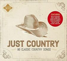 JUST COUNTRY 4 CD SET - 60 Classic Country Songs (Released 2018)