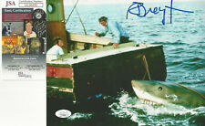 Jaws Richard Dreyfuss autographed 8x10 attacking boat photo Jsa Certified