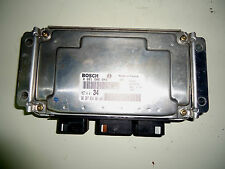0261206942 BOSCH CENTRALINA PEUGEOT 206 CC 1.6i  COUPE CABRIOLET 9638783480